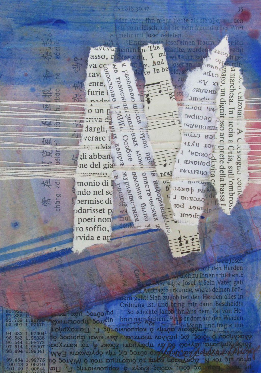 Weaving, Mixed Media Custom Artwork, Prophetic Art