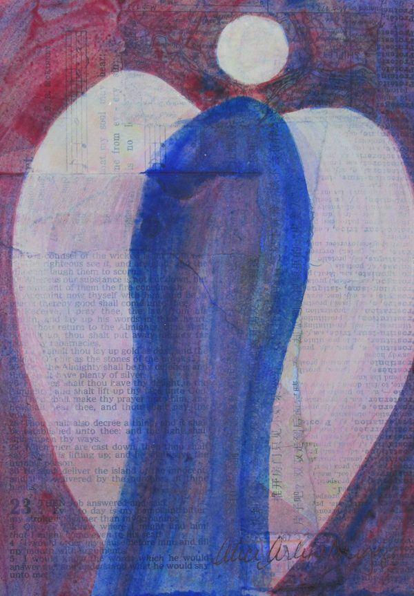 Angel Breakthrough Change is Coming Personal Prophetic Art