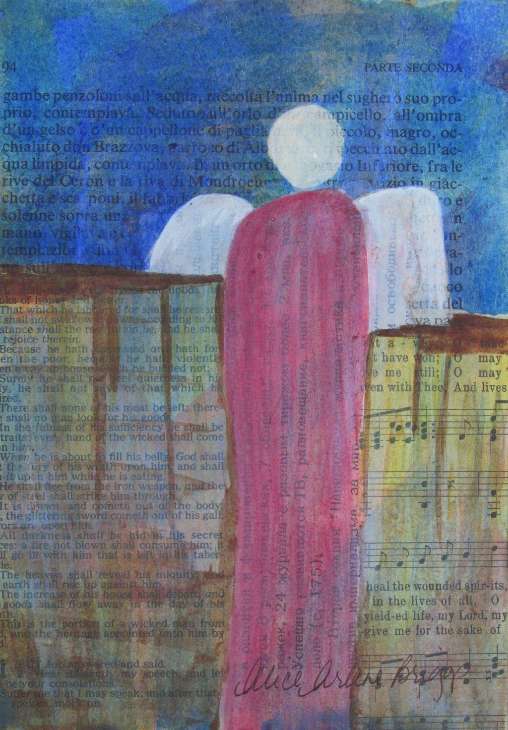 Breakthrough, Angel, Prophetic artwork, business art message