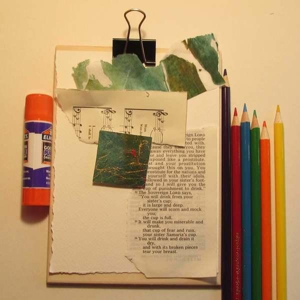 Mixed Media Art Kit Pocket Purse