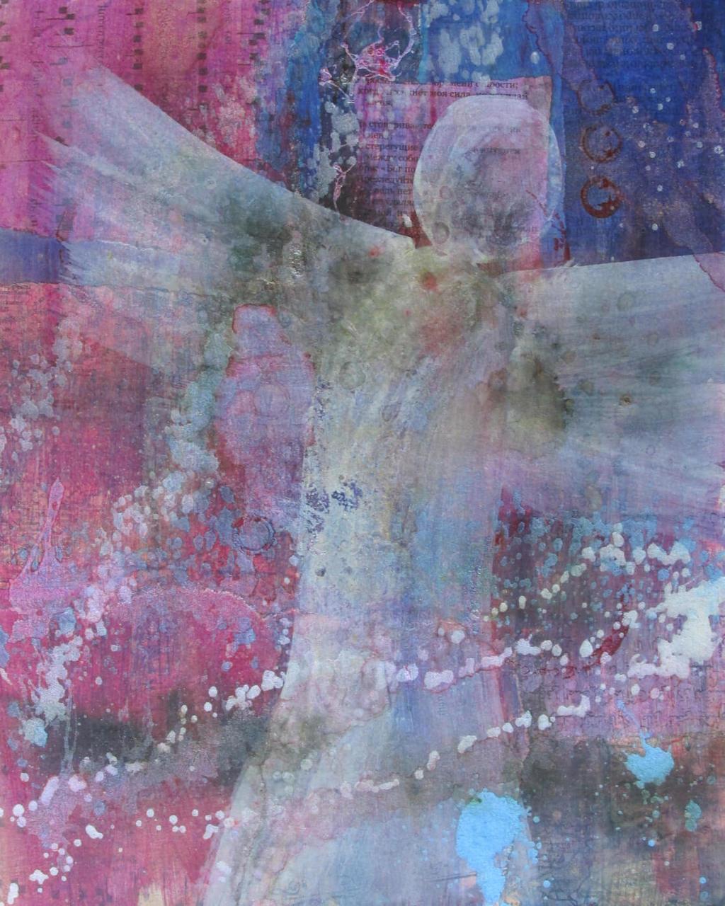Hope Angel Prophetic Art Prophetic Painting Prayer