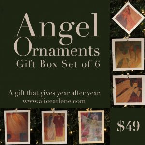 Angel Ornament Gift Box Set of 6